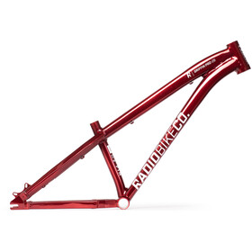 "Radio Bikes GRIFFIN PRO 26"" Frame, translucent red"